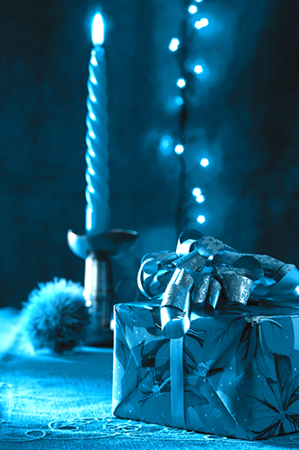 ChristmasCandle_blu
